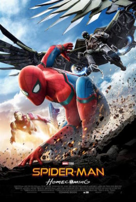 Spider-Man Homecoming - affiche
