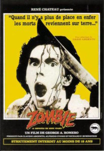 Zombie de George Romero - affiche
