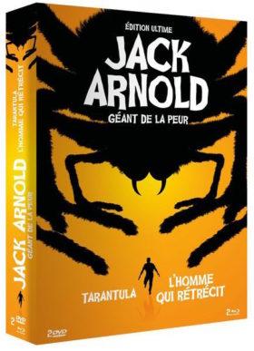 Coffret Jack Arnold - Geant de la peur - jaquette