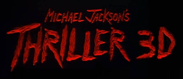 Thriller 3D - logo