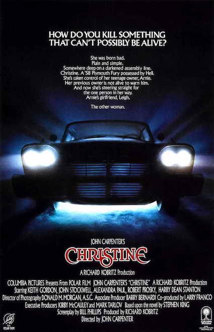 Christine de John Carpenter - poster