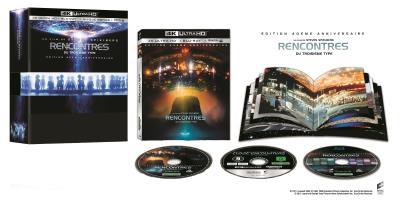 Rencontres du Troisieme Type - 40e anniversaire 4K-BR-DVD-Livret