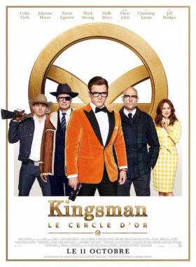 Kingsman 2 Le Cercle Dor - affiche