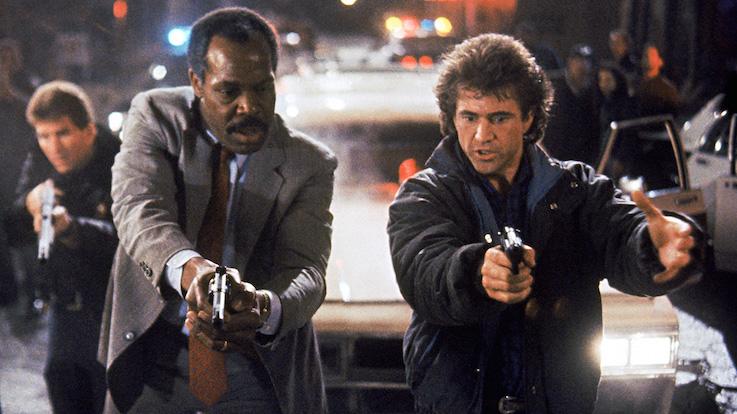 Mel Gibson et Danny Glover - LArme Fatale