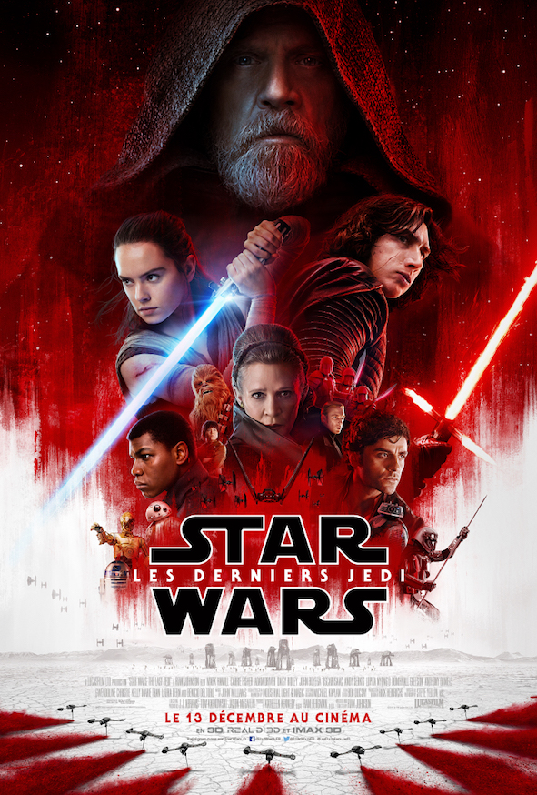Star Wars Les Derniers Jedi - affiche