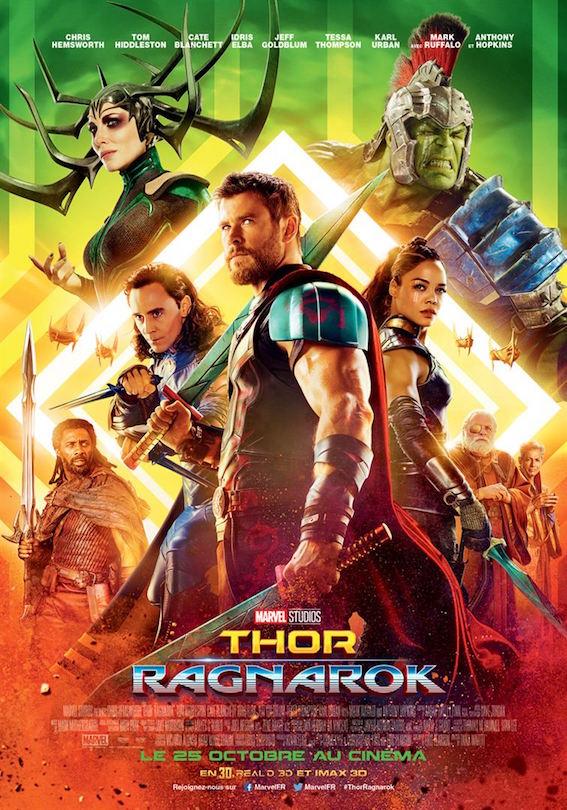 Thor Ragnarok - affiche