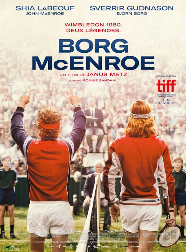 Borg McEnroe de Janus Metz - affiche