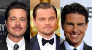Brad Pitt, Leonardo DiCaprio, Tom Cruise