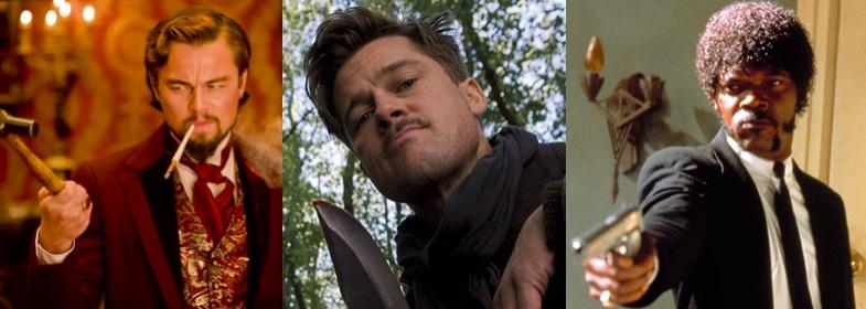 Leonardo DiCaprio- Brad Pitt- Samuel L Jackson