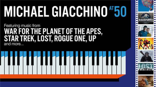 Michael Giacchino - 50 ans - Royal Albert Hall