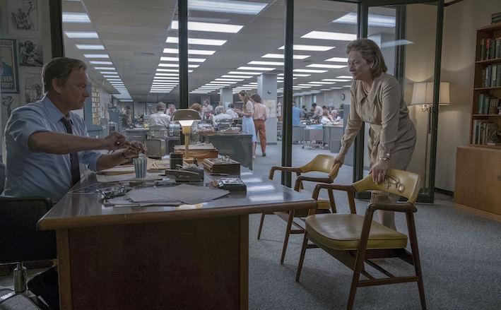 The Post - Tom Hanks et Meryl Streep
