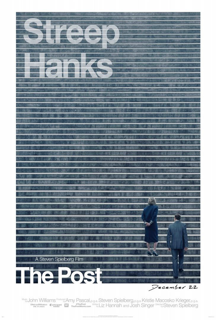 The Post - affiche - Pentagon Papers