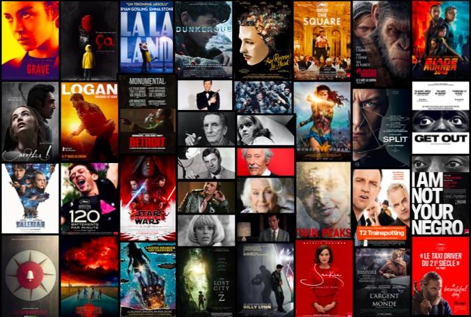 Bilan cinema 2017