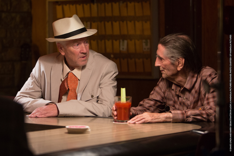 David Lynch et Harry Dean Stanton - Lucky