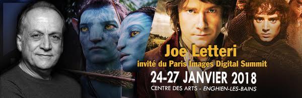 Joe Letteri - invite PIDS 2018