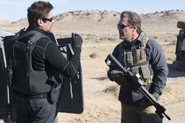 Josh Brolin et Benicio Del Toro - Sicario 2- Soldado