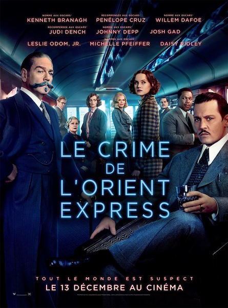 Le Crime de lOrient-Express de Kenneth Branagh - affiche