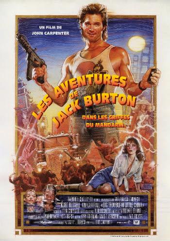 Les Aventures de Jack Burton dans les griffes du Mandarin - affiche