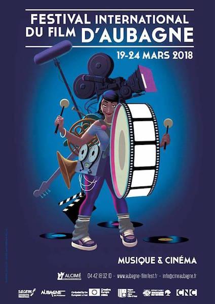 Festival Film Aubagne - affiche
