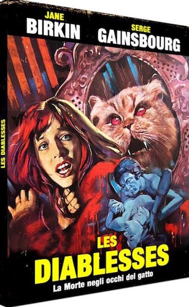 Les Diablesses - La Morte negli occhi del gatto - jaquette