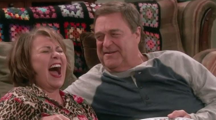 Roseanne Barr et John Goodman
