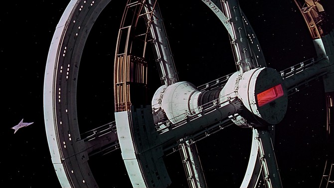 2001- La station spatiale - Copyright MGM Warner Bros