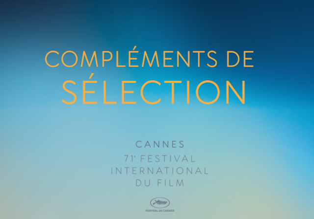 Cannes 2018 - complements de selection
