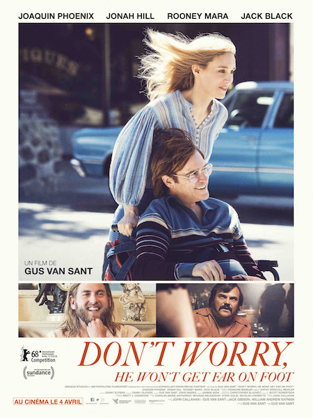Dont Worry He Wont Get Far on Foot - affiche