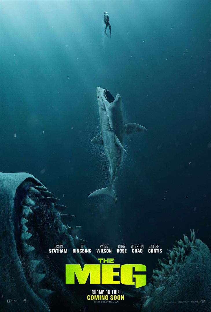 En eaux troubles - The Meg - poster US