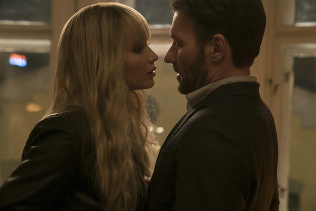 Jennifer Lawrence et Joel Edgerton - Red Sparrow
