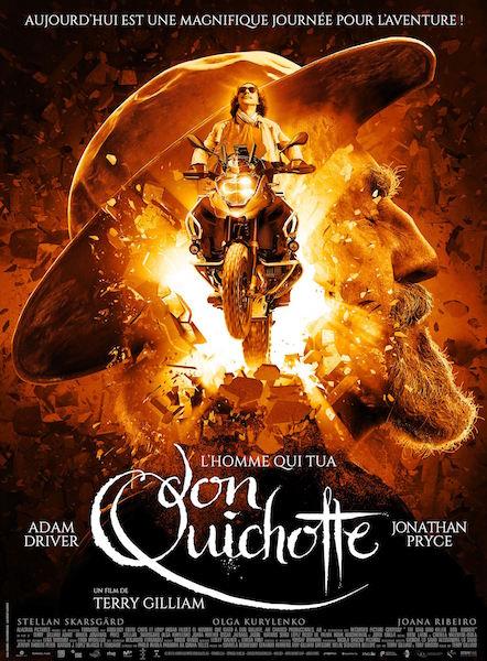 Lhomme qui tua Don Quichotte - affiche
