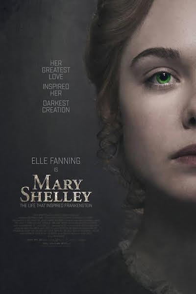 Mary Shelley - poster US