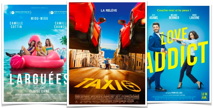 Top box office Taxi 5 Love Addict Larguees