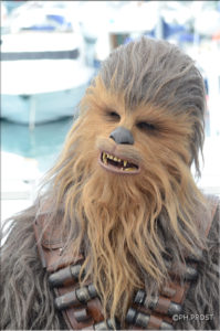 Chewbacca pour Solo A Star Wars Story - Cannes 2018 - Credit Philippe Prost pour CineChronicle
