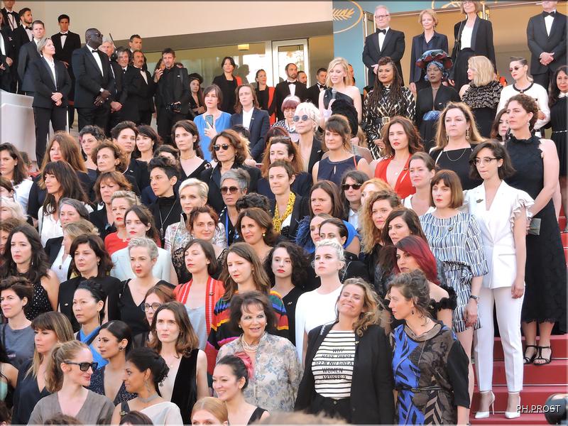 82 Femmes en action - Cannes 2018 - Photo Philippe Prost pour CineChronicle