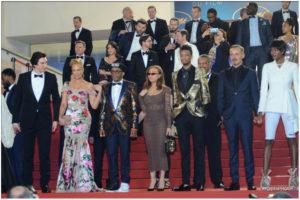 Montee des Marches - Spike Lee pour BlacKkKlansman - Cannes 2018 - Photos Philippe Prost pour CineChronicle