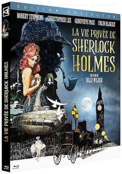La vie privee de Sherlock Holmes - jaquette