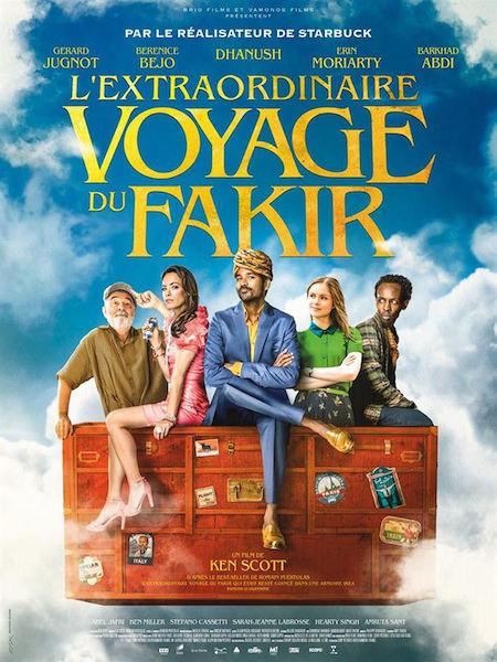 Lextraordinaire voyage du Fakir - affiche