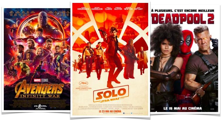 Solo A Star Wars Story Deadpool 2 et Avengers Infinity Wars