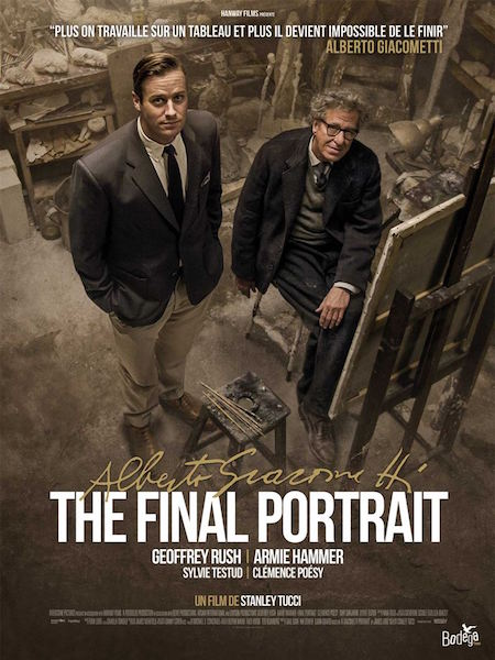 Alberto Giacometti The Final Portrait - affiche