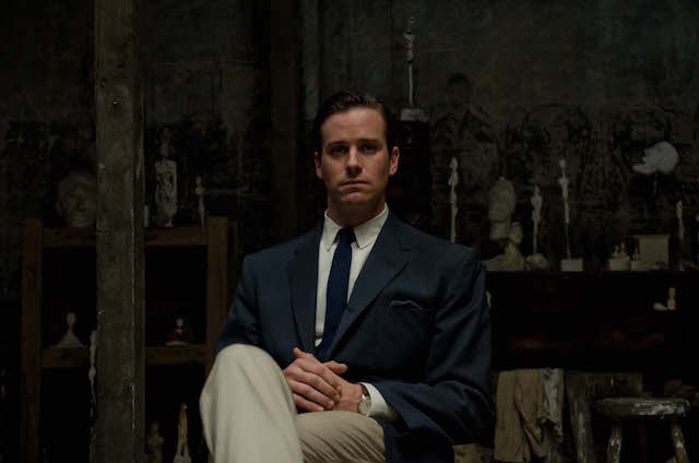 Armie Hammer - Alberto Giacometti The Final Portrait