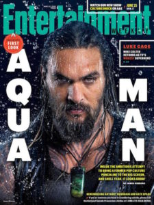 Aquaman - couverture EW