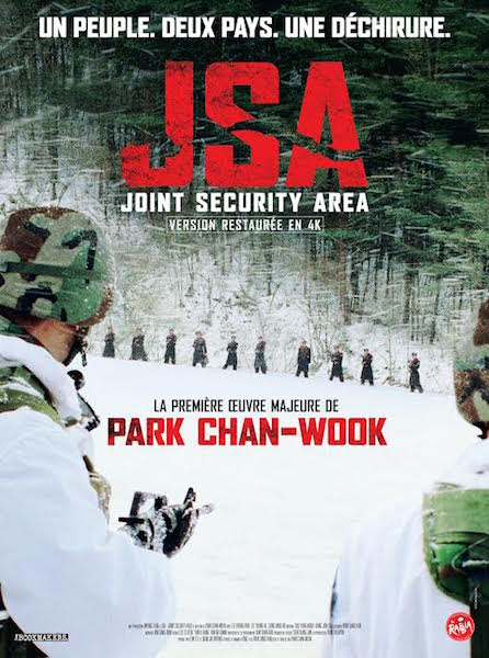 JSA Joint Security Area - affiche