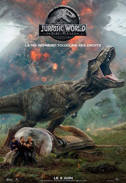 Jurassic World Fallen Kingdom - affiche