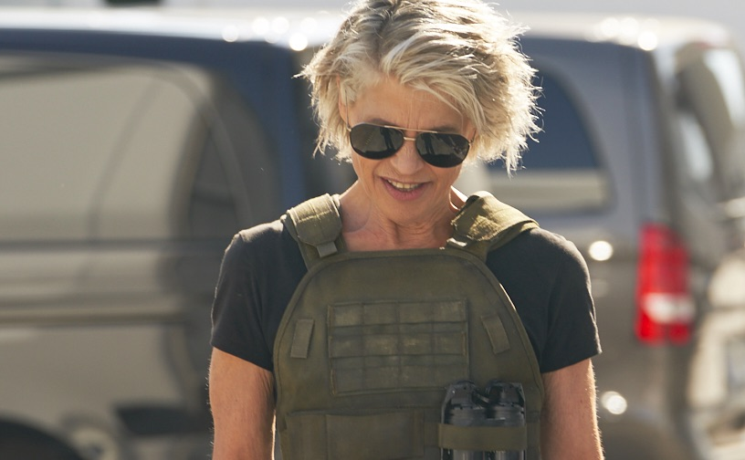 Linda Hamilton - Sarah Connor - Terminator 6
