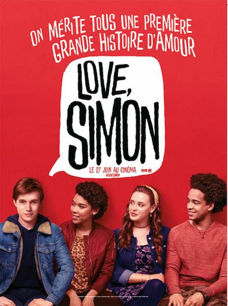 Love Simon - affiche