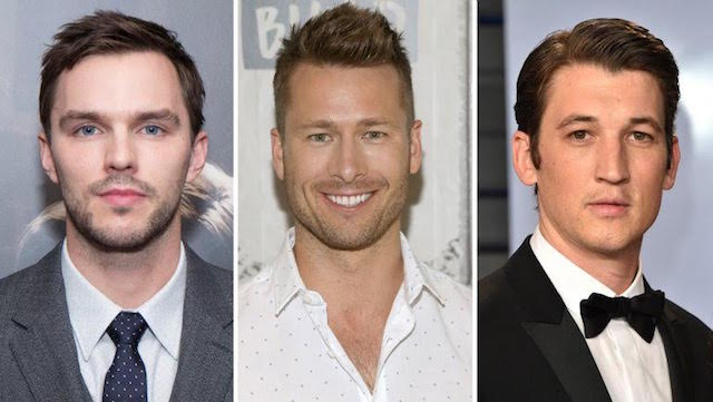 Nicholas Hoult, Glen Powell et Miles Teller - Top Gun 2