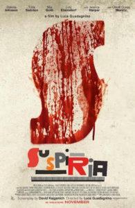 Suspiria remake - affiche