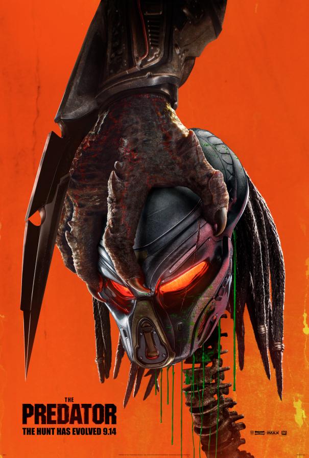 The Predator - affiche US