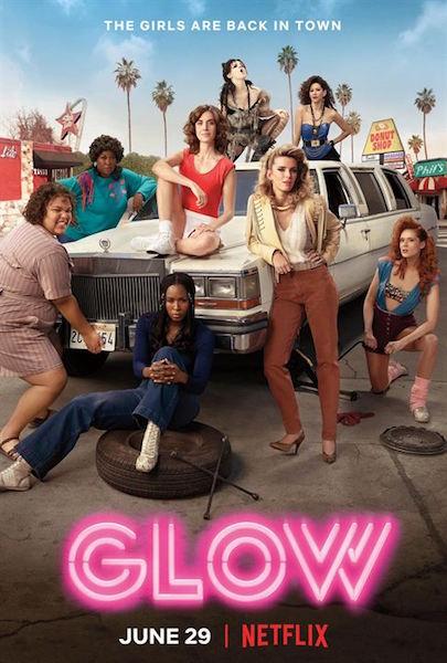 Glow saison 2 - affiche